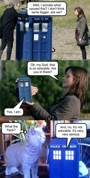 The Doctor has a very bad day.