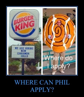 WHERE CAN PHIL APPLY?