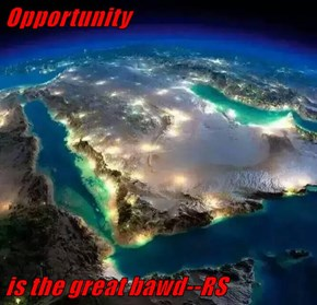 Opportunity  is the great bawd--RS