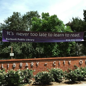 Can You Read The Learn To Read Sign?