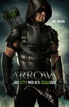 Oliver Queen Has An Awesome New Look In This Arrow Season 4 Poster