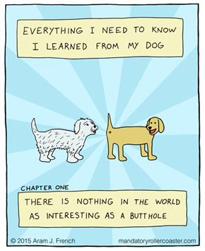 These Web Comics Demonstrate Why Dogs Simultaneously Rule And Drool