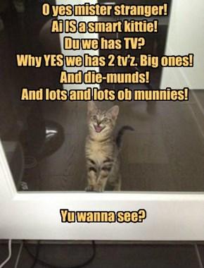 Let me unlock da door fur yu!