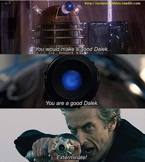 The Doctor is Evolving