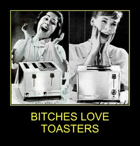 BITCHES LOVE TOASTERS