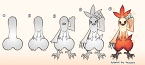 How to Draw Combusken
