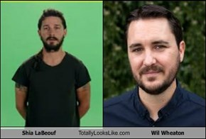 Shia LaBeouf Totally Looks Like Wil Wheaton