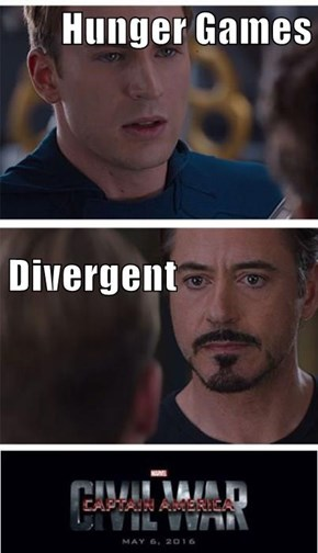 Hunger Games Divergent