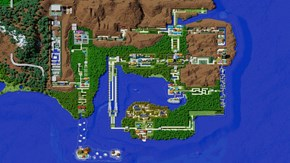Kanto Recreated in Minecraft