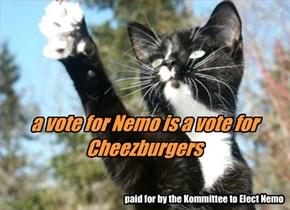 Nemo's latest campaign poster
