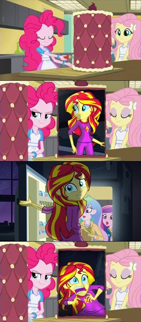 Only Pinkie...