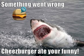 Something went wrong  Cheezburger ate your funny!