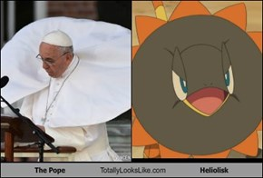 The Pope Totally Looks Like Heliolisk