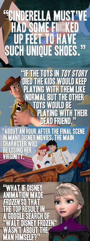 Unfortunate Disney Truths