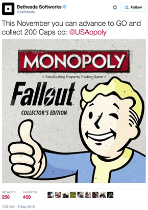 In a Quest to Procure All of Your Cash, Bethesda Has Announced Fallout Monopoly