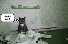 Guerilla paperwork
