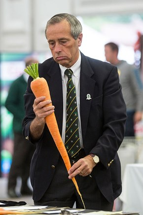 Photoshop of the Day: Sad Man Meets Huge Carrot