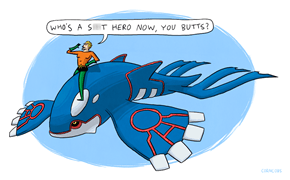 Kyogre, Aquaman Chooses You!