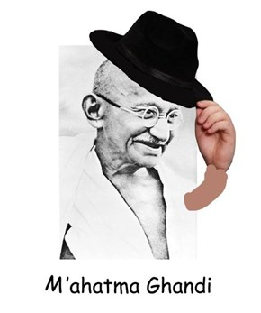 Who Knew Ghandi Was a Fedora