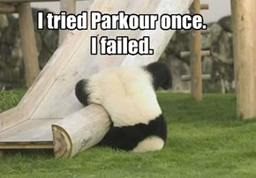 Parkour Failure