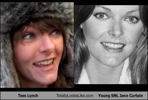 Tess Lynch Totally Looks Like Young SNL Jane Curtain