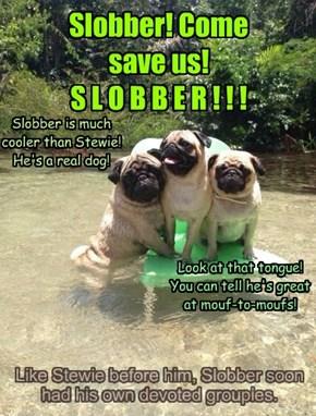 Slobber! Come save us! S L O B B E R ! ! !