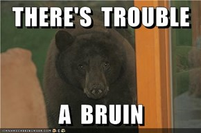 THERE'S  TROUBLE  A  BRUIN