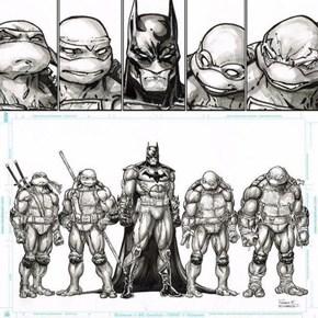 Batman/TMNT Concept
