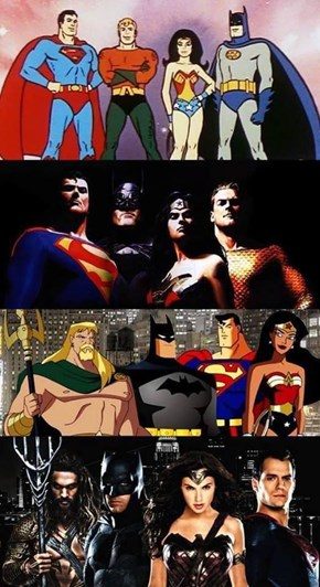What? Your JUSTICE LEAGUE is evolving!