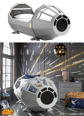 If You Buy Your Kid This Star Wars Bed, Don't Let Them Get Cocky