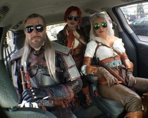 """""""Get in, Loser, We're Going Monster Slaying"""""""