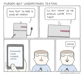 This Robot Understands Texting Better Than My Parents