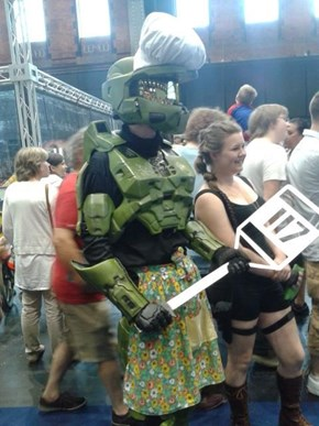 Master Chief, Meet Master Chef