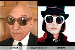 Stewart Totally Looks Like Willlie W