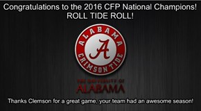 Roll Tide!!!!