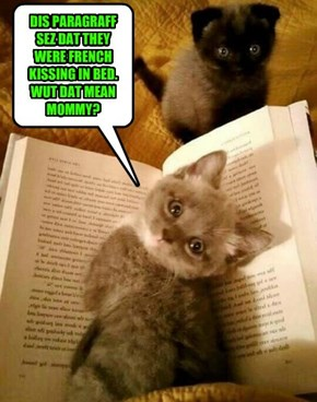 OK TIME FOR CAT IN THE HAT. WHERE DID YOU GET THAT BOOK???