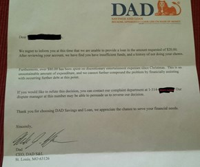 After Asking for an Allowance Advance, a 6 Year-Old Learned a Professional Lesson From Dad™