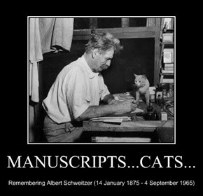 MANUSCRIPTS...CATS...