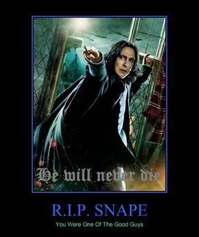 R.I.P. SNAPE