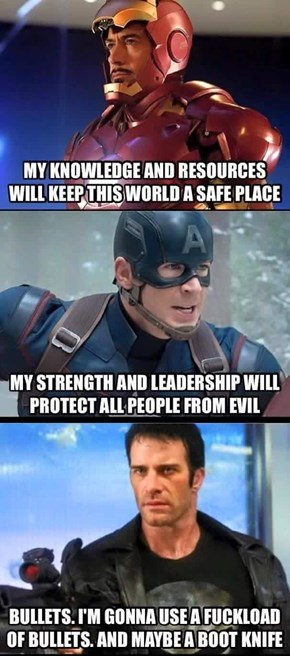 Who Knew That the Punisher Was More 'Murica Than Cap?