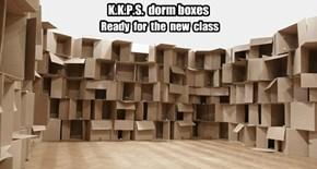 K.K.P.S.  dorm boxes
