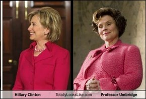 Hillary Clinton Totally Looks Like Professor Umbridge