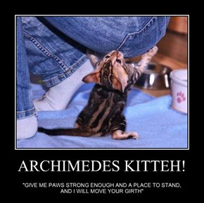 ARCHIMEDES KITTEH!
