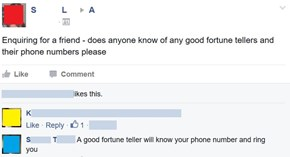 Are Telemarketers Fortune Tellers?