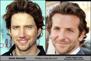 Jamie Kennedy Totally Looks Like Bradly Cooper's Less  Handsome Older Brother