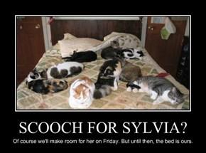 SCOOCH FOR SYLVIA?