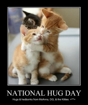 NATIONAL HUG DAY