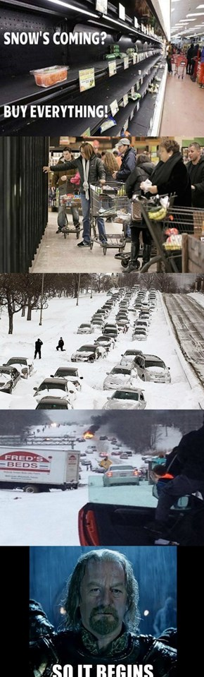 Winter in North Carolina