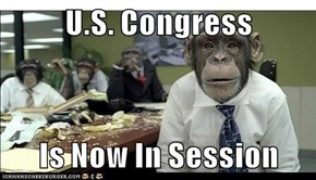 U.S. Congress  Is Now In Session