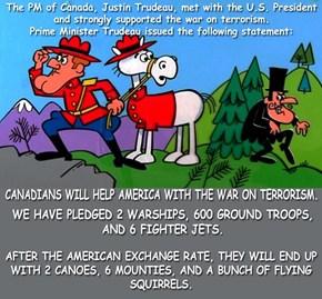 Canada always ready to help!